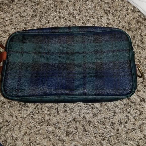 5a714b587d0 Ralph lauren plaid travel cosmetic case vintage. M 5ad567fa5521be23f9e65da8